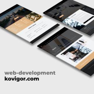 Сайт консалтинговой компании KOVIGOR